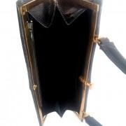 Bolso vintage de piel de lagarto (2)