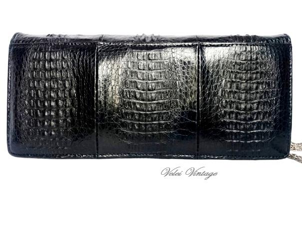 Bolsos de piel genuinos vintage