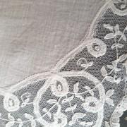pañuelo de novia de encaje de bruselas