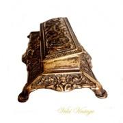 caja-guarda-sellos-escritorio-antiguedades-vintage-bronce