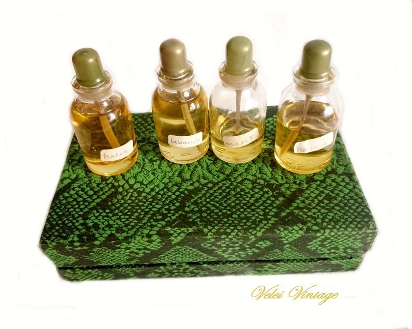 Perfumeros antiguos, perfumes de colección