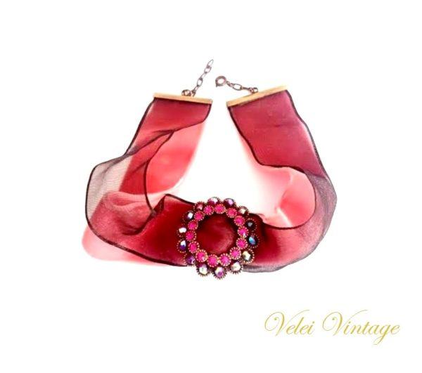 gargantillas-collares- victoriana- cristales- pedreria- vintage- bisuteria
