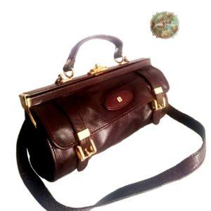 bolso antiguo siglo XIX, plegable, bolso vintage,