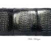 bolso clutch de cocodrilo vintage