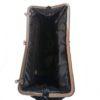 bolso vintage de terciopelo negro
