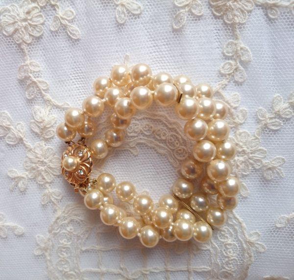 brazalete-vintage-de perlas-de-manacor