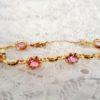 pulsera-vintage- bracelet- bisutería- jewelry- gold plated