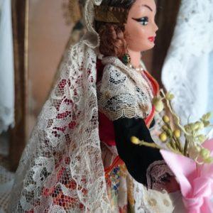 muñeca-fallera-caja-de-musica-de-colección-ballerina-doll