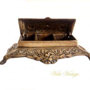 caja-para-sellos-de- bronce-antigua-vintage-regalos