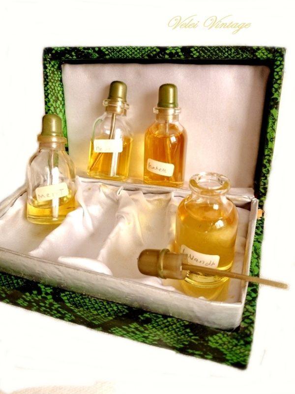 perfumeros-antiguos-con-esencias-perfumes-de-coleccion