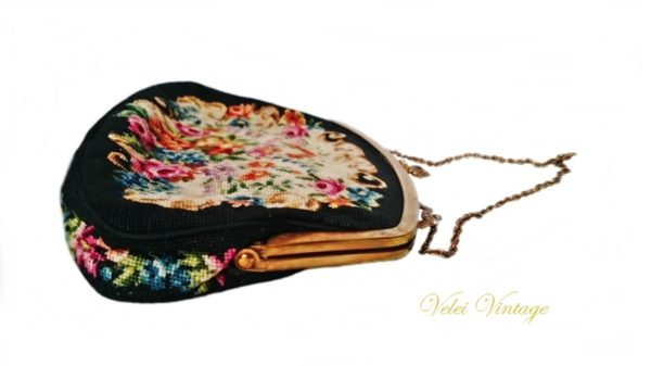 bolso-de-fiesta-vintage-petit-point-ceremonia-antiguo-de-boquilla