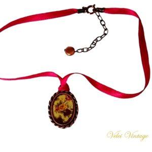 camafeo-gargantilla-retro-vintage-flores-victorian-jewelry-regalos-collar-fiesta