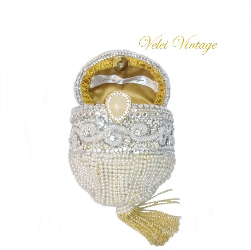 Bolso de fiesta joya exclusivo hecho a mano