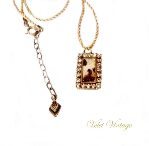 collar-colgante-vintage-leopardo-original