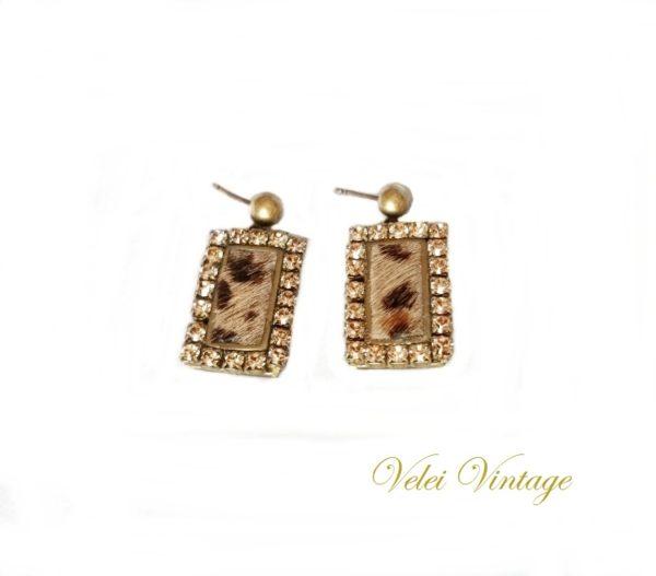 pendientes-vintage-leopardo
