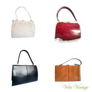 Bolsos vintage de piel
