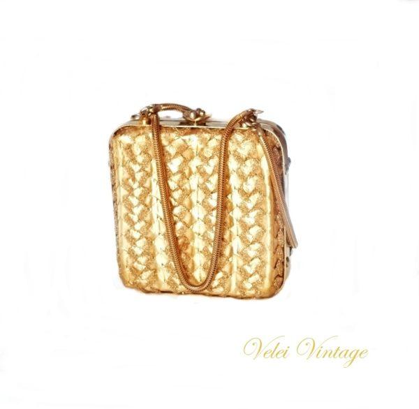 bolso-boda-fiesta-dorado-antiguo-vintage-caja