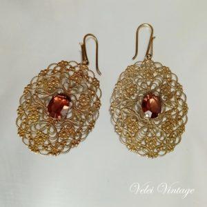 pendientes-vintage-dorados