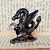 pisapapeles-dragon-de-bronce-y-cristal-vintage-figura